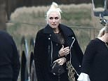 Picture Shows: Gwen Stefani  January 09, 2016    Country singer Blake Shelton and his new lady Gwen Stefani escaped for another romantic getaway, this time to attend the wedding of Blake's Australian hairstylist and friend, Amanda Craig, in Nashville, Tennessee. Blake and Gwen decided to 'rough it' during this trip, opting to stay in Blake's multi million dollar trailer that he uses while on tour. Blake stood in as a groomsman for the wedding while Gwen attended as a guest. Also in attendance was country music star Kelly Clarkson, who chatted with Gwen as they walked.    Non-Exclusive  UK RIGHTS ONLY    Pictures by : FameFlynet UK © 2016  Tel : +44 (0)20 3551 5049  Email : info@fameflynet.uk.com