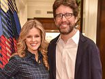 Mandatory Credit: Photo by Rob Latour/WWD/REX/Shutterstock (5479851ag).. Chelsey Crisp and Rhett Reese.. St. Jude Children's Research Hospital Holiday Party arrivals, Brooks Brothers, Los Angeles, California - 05 Dec 2015.. ..