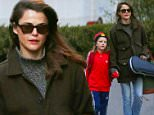 New York, NY - 'The Americans' actress, Keri Russell, steps out in New York to walk her son River to school while keeping her burgeoning baby bump under wraps.\nAKM-GSI    January  8, 2016\nTo License These Photos, Please Contact :\nSteve Ginsburg\n(310) 505-8447\n(323) 423-9397\nsteve@akmgsi.com\nsales@akmgsi.com\nor\nMaria Buda\n(917) 242-1505\nmbuda@akmgsi.com\nginsburgspalyinc@gmail.com