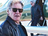 Picture Shows: Harrison Ford  January 07, 2016\n \n 'Star Wars' actor Harrison Ford is spotted getting on his private jet to head out of town in Santa Monica, California. \n \n It's being reported that Harrison was paid 10-20 million dollars to reprise the role of Han Solo in the latest 'Star Wars' movie, some 50 times more then his younger co-stars. \n \n Exclusive - All Round\n UK RIGHTS ONLY\n \n Pictures by : FameFlynet UK © 2016\n Tel : +44 (0)20 3551 5049\n Email : info@fameflynet.uk.com