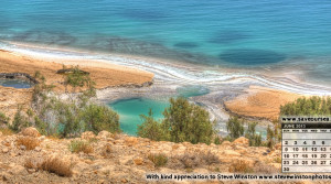 June 2013 Dead Sea Desktop Calendar – Steve Winston