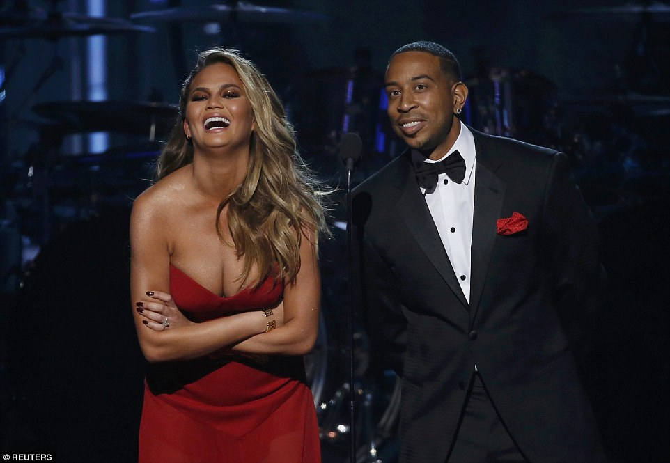 Hosts: Chrissy Teigen and Ludacris opened the show with playful banter before kicking off the star-studded awards show in Las Vegas