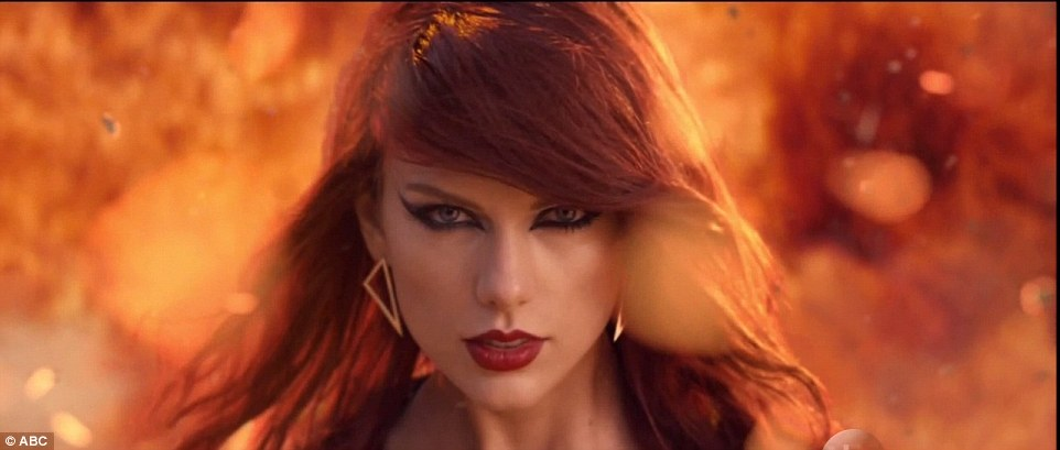 Here it is! Taylor's highly anticipated music video for Bad Blood debuted at the awards show