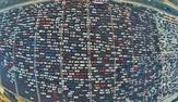 Buyrun Pekin trafiğine! 50 şeritli yol kilitlendi!