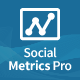 Easy Social Metrics Pro for WordPress - CodeCanyon Item for Sale