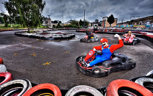 London's Sami Cetin, a professional Super Mario Kart player, is recognised for the Fastest Lap on Mario Kart in a time of 56.45 seconds