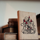 Antique Embroidered Book