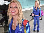 Tara Reid departing LMM airport in San Juan, Puerto Rico, after her vacation.  Pictured: Tara Reid Ref: SPL1207316  110116   Picture by: Photopress PR  Splash News and Pictures Los Angeles: 310-821-2666 New York: 212-619-2666 London: 870-934-2666 photodesk@splashnews.com