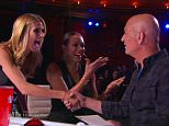 """26 May 2015 - Los Angeles - USA\n\n**** STRICTLY NOT AVAILABLE FOR USA ***\n\nOCD sufferer and germoaphobe Howie Mandel hypnotized into shaking hands on premiere of America's Got Talent. Chris Jones, a 28-year-old professional hypnotist from Chicago, put Mandel under and then told him everyone was wearing gloves and got him to shake his hand before stunned fellow judges Heidi Klum, Mel B and Howard Stern also shook his hand. Afterward, when he is told what happened while he was under, Mandel said: """"Are you being serious? Are you f****** serious?"""" Mandel was not exactly amused by Jones' routine and later revealed that he did go to therapy after that day of shooting because at first, he felt a little 'taken advantage of'. At a press junket for the show, MAndel said: """"I've spent hundreds of thousands of dollars on medication, and in five minutes on 'AGT,' this guy's got me touching everyone. I was disturbed, but it's kind of amazing to see that I survived it. And I have OCD, which is not"""