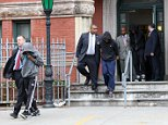 January 12, 2016\nDenzel Murray, Ethan Phillip and Shaquell Cooper leave for court to be tried as adult in the gang rape in a Brownsville playground in Brooklyn, NY\n