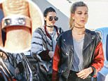 """12.JANUARY.2016 - BEVERLY HILLS ñ USA\n*** STRICTLY AVAILABLE FOR UK AND GERMANY USE ONLY ***\nYOUNG MODELS AND BEST FRIENDS HAILEY RHODE BALDWIN AND KENDALL JENNER ENJOY LUNCH TOGETHER IN THE 90210 AREA. HAILEY BALDWIN AND YOUNG POPSTAR JUSTIN BIEBER SPENT THE NEW YEAR TOGETHER, DOCUMENTING THEIR TROPICAL HOLIDAY VACATION BY POSTING SEVERAL INTIMATE PHOTOS, THERE'S ONE PHOTO THAT HAS ÇBELIEBERSÇ FREAKING OUT. BIEBER, 21, POSTED A PHOTO SUNDAY THAT SHOWS HIS KISSING BALDWIN, HIS CHILDHOOD FRIEND. THE UNCAPTIONED PHOTO HAD GAINED OVER A MILLION LIKES BY MONDAY MORNING. THIS ISN'T THE FIRST TIME THE TWO HAVE SHARED PUBLIC DISPLAYS OF AFFECTION ONLINE. BALDWIN, THE 19-YEAR-OLD DAUGHTER OF ACTOR STEPHEN BALDWIN, POSTED A PHOTO FRIDAY THAT SHOWED HER KISSING BIEBER'S NECK WITH HER ARMS WRAPPED TIGHTLY AROUND HIM. THE MODEL CAPTIONED THE PHOTO: """"NEW YEARS."""" BIEBER ALSO SHARED OTHER MOMENTS WITH BALDWIN FROM THE TRIP, INCLUDING A SNAP WHERE THE TWO ARE DRESSED UP FOR A NIGHT OUT ON THE TOWN."""