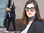 Picture Shows: Anne Hathaway  January 11, 2016\n \n * Min Web / Online fee £150 for set *\n \n Pregnant actress Anne Hathaway stops at Bel Bambini in West Hollywood, California. Her baby bump is really showing now and the actress makes no effort to cover it up. While Anne was out, she was hand in hand with her husband Adam Shulman. \n \n * Min Web / Online fee £150 for set *\n \n Exclusive All Rounder\n UK RIGHTS ONLY\n Pictures by : FameFlynet UK © 2016\n Tel : +44 (0)20 3551 5049\n Email : info@fameflynet.uk.com