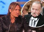 Grabs from The Ellen Show where Keith Urban and Ellen discuss his father's role in his career