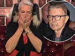 ****Ruckas Videograbs****  (01322) 861777 *IMPORTANT* Please credit Channel 5 for this picture. 11/01/16 Celebrity Big Brother  Day 7 Seen here: Angie Bowie with John Partridge and David Gest after she gets the news of her ex husbands passing. Grabs from the 9pm show tonight Office  (UK)  : 01322 861777 Mobile (UK)  : 07742 164 106 **IMPORTANT - PLEASE READ** The video grabs supplied by Ruckas Pictures always remain the copyright of the programme makers, we provide a service to purely capture and supply the images to the client, securing the copyright of the images will always remain the responsibility of the publisher at all times. Standard terms, conditions & minimum fees apply to our videograbs unless varied by agreement prior to publication.