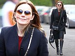 *** Fee of £150 applies for subscription clients to use images before 22.00 on 120116 *** EXCLUSIVE ALLROUNDERGeri Halliwell wearing a black winter coat, sunglasses, knee high black leather boots and carrying a handbag Featuring: Geri Halliwell, Geri Horner Where: London, United Kingdom When: 11 Jan 2016 Credit: WENN.com