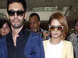 NICE, FRANCE - MAY 14: Cheryl Fernandez-Versini and husband Jean-Bernard Fernandez-Versini arrive at Nice Airport for The 68th Annual Cannes Film Festival on May 14, 2015 in Nice, France. (Photo by Alex B. Huckle/GC Images)
