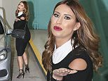 TOWIE's Ferne McCann is pictured leaving the ITV studios following a guest appearance on 'This Morning'.  Pictured: Ferne McCann Ref: SPL1207430  120116   Picture by: Simon Earl / Splash News  Splash News and Pictures Los Angeles: 310-821-2666 New York: 212-619-2666 London: 870-934-2666 photodesk@splashnews.com