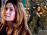 FROM ITV\n\nSTRICT EMBARGO - No Use Before Tuesday 12 January 2016\n\nCoronation Street - Ep 8820\n\nMonday 18 January 2016 - 2nd Ep\n\nSTRICTLY EMBARGOED FOR USE UNTIL 00:01am TUESDAY 12TH JANUARY 2016 \n\nThese are the dramatic scenes from next weekøs Coronation Street which show Carla Connor fighting for her life after a botched robbery at the Bistro.\n\nCarla, played by Ali King, finds herself caught up in the robbery after meeting up with Robert to talk about their secret one night stand.\n\nBoth are unaware that Tracy is hiding in the kitchen and has heard every word. After Robert leaves two thugs enter the Bistro intent on robbing the place - but instead of coming to Carlaøs aid Tracy leaves her to her fate.\n\nWhen the robbers grab her handbag Carla gives chase but ends up being dragged along the street by their getaway vehicle.\n\nWith her nemesisøs life hanging in the balance will Tracy blow the secret about Carla and Robertøs secret fling to Nick?\n\nThe dramatic episodes w