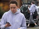 Star Wars actress Daisy Ridley seen moving home this week..\n\nPic:Greg Brennan 07930877317