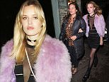 Picture Shows: Georgia May Jagger  January 12, 2016    Georgia May Jagger seen celebrating her birthday at Sexy Fish restaurant in London, England.    Non-Exclusive  WORLDWIDE RIGHTS    Pictures by : FameFlynet UK © 2016  Tel : +44 (0)20 3551 5049  Email : info@fameflynet.uk.com