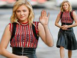 eURN: AD*193094190  Headline: Chloe Grace Moretz arrives at Jimmy Kimmel Live! Caption: Hollywood, CA - Actress Chloe Grace Moretz is joined by her brother Trevor as she arrives at the El Capitan Theatre in Hollywood for an appearance on Jimmy Kimmel Live! AKM-GSI  January  13, 2016 To License These Photos, Please Contact : Steve Ginsburg (310) 505-8447 (323) 423-9397 steve@akmgsi.com sales@akmgsi.com or Maria Buda (917) 242-1505 mbuda@akmgsi.com ginsburgspalyinc@gmail.com Photographer: PHAM  Loaded on 14/01/2016 at 01:03 Copyright:  Provider: AKM-GSI-EXPOSURE  Properties: RGB JPEG Image (19997K 2587K 7.7:1) 2133w x 3200h at 300 x 300 dpi  Routing: DM News : GeneralFeed (Miscellaneous) DM Showbiz : SHOWBIZ (Miscellaneous) DM Online : Online Previews (Miscellaneous), CMS Out (Miscellaneous)  Parking: