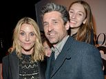 LOS ANGELES, CA - JANUARY 12: Makeup artist Jillian Dempsey (L) and actor Patrick Dempsey attend the inaugural Image Maker Awards hosted by Marie Claire at Chateau Marmont on January 12, 2016 in Los Angeles, California.  (Photo by Charley Gallay/Getty Images for Marie Claire)