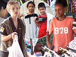 EXCLUSIVE. Coleman-Rayner. Siem Reap, Cambodia. November 22, 2015\nTomboy Shiloh Jolie-Pitt and her sister Zahara treat local disadvantaged Cambodian children including Leida Shoun (pictured in blue T-shirt) and her brothers and sisters to new clothes and bikes in Siem Reap. Shiloh and her minder paid $200 for childrenís clothes and shoes, then took them to play a basketball hoop shooting game in the arcade at The Angkor Centre. In a separate outing, Zahara took the children to buy two brand new bicycles and also treated them to lunch at a local Khmer restaurant. Leida and her 12 siblings live in a four-room tin shack in the local slum of Mundal Bai with their parents.\nCREDIT LINE MUST READ: Coleman-Rayner\nTel US (001) 323 545 7548 - Mobile \nTel US (001) 310 474 4343 - Office\nwww.coleman-rayner.com