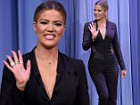 """NEW YORK, NY - JANUARY 13:  Khloe Kardashian visits """"The Tonight Show Starring Jimmy Fallon""""at Rockefeller Center on January 13, 2016 in New York City.  (Photo by Jamie McCarthy/NBC/Getty Images for """"The Tonight Show Starring Jimmy Fallon"""")"""
