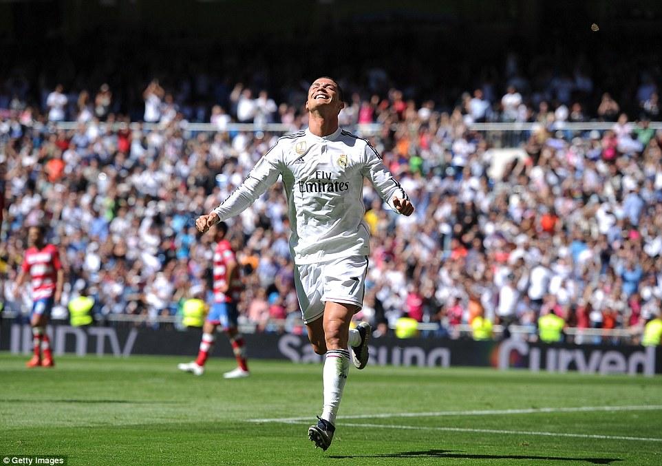 Ronaldo now has 24 La Liga hat-tricks - drawing level with Barcelona star Lionel Messi
