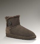 Boutique UGG Bailey Button Mini 3352 Boots Brun (YS308)