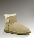 Specielle Tilbud UGG Bailey Button Mini 3352 Boots Beige (FQ311)