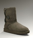 Gratis Levering UGG Bailey Button 5803 Boots Brun (CA310)