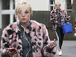 Strictly contestant Helen George seen taking a break from rehearsals for the Strictly tour.\nFeaturing: Helen George\nWhere: London, United Kingdom\nWhen: 14 Jan 2016\nCredit: WENN.com