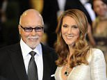 Mandatory Credit: Photo by KeystoneUSA-ZUMA/REX/Shutterstock (1289525e).. Celine Dion and husband Rene Angelil.. 83rd Annual Academy Awards, Arrivals, Los Angeles, America - 27 Feb 2011.. ..