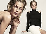 Gillian Anderson wears sweater by Donna Karan New York and skirt by Chloe photographed by Nico, for The EDIT, NET-A-PORTER.COM..jpg