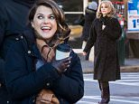 EXCLUSIVE: Pregnant Keri Russell and Matthew Rhys seen in blistering cold on location in Bay Ridge, Brooklyn filming 'The Americans.' While Matthew appears to be directing, Keri is seen puffing on a cigarette for the scene.\n\nPictured: Keri Russell, Matthew Rhys\nRef: SPL1208465  130116   EXCLUSIVE\nPicture by: Allan Bregg / Splash News\n\nSplash News and Pictures\nLos Angeles: 310-821-2666\nNew York: 212-619-2666\nLondon: 870-934-2666\nphotodesk@splashnews.com\n