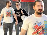 EXCLUSIVE: Shia LaBeouf and his fiancÈ Mia Goth hold hands after lunch at Granville Cafe in Studio City on Wednesday.\n\nPictured: Shia LaBeouf, Mia Goth \nRef: SPL1207254  130116   EXCLUSIVE\nPicture by: INTERSTAR/Splash News\n\nSplash News and Pictures\nLos Angeles: 310-821-2666\nNew York: 212-619-2666\nLondon: 870-934-2666\nphotodesk@splashnews.com\n