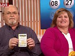 John and Lisa Robertson claim to be the winners of the powerball in Tennessee on the Today show