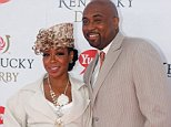 Actress Tichina Arnold and Rico Hines attend the 137th Kentucky Derby at Churchill Downs on May 7, 2011 in Louisville, Kentucky. (Photo by Joey Foley/FilmMagic)