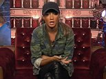 ****Ruckas Videograbs****  (01322) 861777 *IMPORTANT* Please credit Channel 5 for this picture. 15/01/16 Celebrity Big Brother  DAY 11 Grabs from the Eviction Show tonight  in the CBB house Office  (UK)  : 01322 861777 Mobile (UK)  : 07742 164 106 **IMPORTANT - PLEASE READ** The video grabs supplied by Ruckas Pictures always remain the copyright of the programme makers, we provide a service to purely capture and supply the images to the client, securing the copyright of the images will always remain the responsibility of the publisher at all times. Standard terms, conditions & minimum fees apply to our videograbs unless varied by agreement prior to publication.