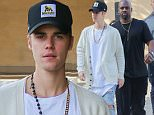 Beverly Hills, CA - Justin Bieber and road manager friend Corey Gamble go for a post lunch stroll in Beverly Hills following a lunch meeting at Bouchon bistro & bakery restaurant together.\nAKM-GSI       January 14, 2016\nTo License These Photos, Please Contact :\nSteve Ginsburg\n(310) 505-8447\n(323) 423-9397\nsteve@akmgsi.com\nsales@akmgsi.com\nor\nMaria Buda\n(917) 242-1505\nmbuda@akmgsi.com\nginsburgspalyinc@gmail.com
