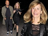 Picture Shows: Common, Laura Dern  January 14, 2016\n \n Actress Laura Dern and rapper/actor Common spotted out for a dinner date at Bouchon in Beverly Hills, California. The pair looked extremely happily together as they talked and laughed the entire way to the restaurant.\n \n Non Exclusive\n UK RIGHTS ONLY\n \n Pictures by : FameFlynet UK © 2016\n Tel : +44 (0)20 3551 5049\n Email : info@fameflynet.uk.com