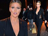 eURN: AD*193081041  Headline: Khloe Kardashian looks slimmer than ever in black lace for the 'Tonight Show' Caption: Khloe Kardashian was spotted leaving the Trump Soho Hotel as she headed to the 'Tonight Show' in New York City, New York on Wednesday, January 13, 2016. She stunned in a slimming black lace jumpsuit as she stepped out in the cold, and posed for selfies before heading to her car.  Pictured: Khloe Kardashian Ref: SPL1208495  130116   Picture by: 247PAPS.TV / Splash News  Splash News and Pictures Los Angeles: 310-821-2666 New York: 212-619-2666 London: 870-934-2666 photodesk@splashnews.com  Photographer: 247PAPS.TV / Splash News Loaded on 13/01/2016 at 22:14 Copyright: Splash News Provider: 247PAPS.TV / Splash News  Properties: RGB JPEG Image (4865K 1125K 4.3:1) 1107w x 1500h at 72 x 72 dpi  Routing: DM News : GroupFeeds (Comms), GeneralFeed (Miscellaneous) DM Showbiz : SHOWBIZ (Miscellaneous) DM Online : Online