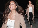 13 Jan 2016 - BEVERLY HILLS - USA *** EXCLUSIVE ALL ROUND PICTURES *** FORMER PUSSYCAT DOLL SINGER NICOLE SCHERZINGER LOOKS HOT IN LEATHER PANTS AND TANK TOP AS SHE ARRIVES AT E BALDI IN BEVERLY HILLS! BYLINE MUST READ : XPOSUREPHOTOS.COM ***UK CLIENTS - PICTURES CONTAINING CHILDREN PLEASE PIXELATE FACE PRIOR TO PUBLICATION *** **UK CLIENTS MUST CALL PRIOR TO TV OR ONLINE USAGE PLEASE TELEPHONE  44 208 344 2007**
