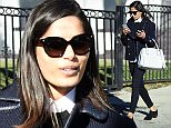 14 Jan 2016 - LOS ANGELES - USA *** EXCLUSIVE ALL ROUND PICTURES *** ACTRESS FREIDA PINTO SEEN LOOKING TRENDY AFTER A BUSINESS MEETING WITH A WOMAN IN LOS ANGELES! BYLINE MUST READ : XPOSUREPHOTOS.COM ***UK CLIENTS - PICTURES CONTAINING CHILDREN PLEASE PIXELATE FACE PRIOR TO PUBLICATION *** **UK CLIENTS MUST CALL PRIOR TO TV OR ONLINE USAGE PLEASE TELEPHONE  44 208 344 2007**
