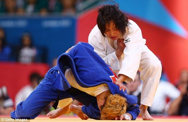 Beaten: Cox was caught by a Yuko score