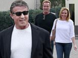 Picture Shows: Sylvester Stallone  January 16, 2016\n \n Oscar Nominee Sylvester Stallone was spotted having lunch with a friend at Cafe Roma in Beverly Hills, California.\n \n Non-Exclusive\n UK RIGHTS ONLY\n \n Pictures by : FameFlynet UK © 2016\n Tel : +44 (0)20 3551 5049\n Email : info@fameflynet.uk.com