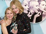 CENTURY CITY, CA - JUNE 16:  Actress Naomi Watts (L) and honoree Nicole Kidman, recipient of The Crystal Award for Excellence in Film, pose backstage at the Women In Film 2015 Crystal + Lucy Awards Presented by Max Mara, BMW of North America, and Tiffany & Co. at the Hyatt Regency Century Plaza on June 16, 2015 in Century City, California.  (Photo by Mark Davis/Getty Images for Women in Film)