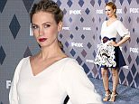 Actress January Jones attends the FOX All-Star Party at the Fox Winter TCA on Friday, Jan. 15, 2016, Pasadena, Calif. (Photo by Richard Shotwell/Invision/AP)