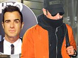 NEW YORK, NY - JANUARY 15:  Actor, Director,Screenwriter Justin Theroux is seen arriving at 'JFK Airport' on January 15, 2016 in New York City.  (Photo by Raymond Hall/GC Images)